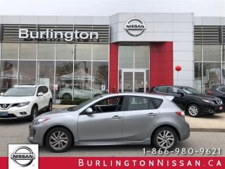 Used 2013 Mazda MAZDA3 GS-SKY, ACCIDENT FREE, LEATHER, MOONROOF ! for sale in Burlington, ON