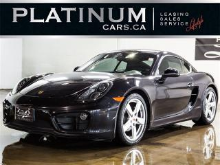 Used 2014 Porsche Cayman NAVI, BOSE AUDIO, PDK PADDLES, HEATED SEATS for sale in North York, ON