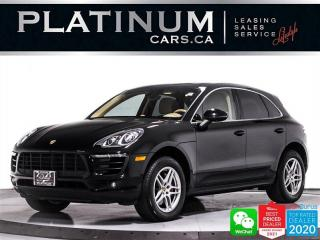 Used 2015 Porsche Macan S, 340HP, AWD, SPORT CHRONO, PADDLE SHIFTERS for sale in Toronto, ON