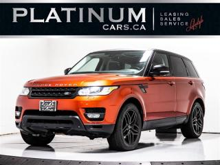 Used 2014 Land Rover Range Rover Sport Supercharged V8, DYNAMIC, NAVI, PANO, CAM for sale in Toronto, ON