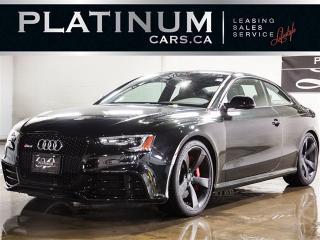 Used 2015 Audi RS5 4.2 QUATTRO, 450HP, NAVI, BANG&OLUFSEN, PANO for sale in North York, ON