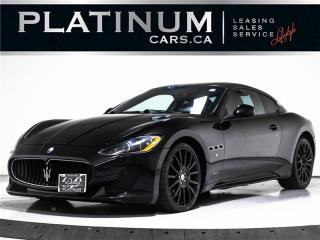 Used 2010 Maserati GranTurismo S 4.7L V8, 454HP, NAV, SENSORS, F1 PADDLE, BOSE for sale in Toronto, ON