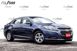 Used 2014 Chevrolet Malibu LS Air Bluetooth Protection Pkg for sale in Thornhill, ON