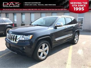 Used 2012 Jeep Grand Cherokee OVERLAND/NAVIGATION/PANORAMIC SUNROOF for sale in North York, ON