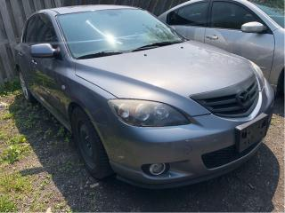 Used 2004 Mazda MAZDA3 GS SELLING AS IS!! NICE LOCAL TRADE for sale in St Catharines, ON