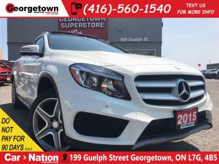 Used 2015 Mercedes-Benz GLA-Class GLA250 4MATIC | NAVI | ROOF | AWD | 2.0L | for sale in Georgetown, ON