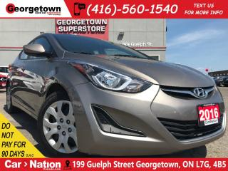 Used 2016 Hyundai Elantra GL | HEATED SEATS | BLUETOOTH | 1.8L | for sale in Georgetown, ON