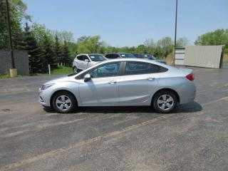 Used 2017 CHEV CRUZE L FWD for sale in Cayuga, ON