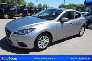 Used 2015 Mazda MAZDA3 GS SPORT **CAMERA** FINANCEMENT FACILE ! for sale in Laval, QC