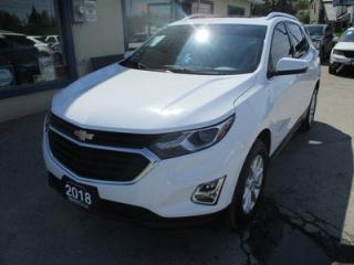 Used 2018 Chevrolet Equinox 'LIKE NEW' FUEL EFFICIENT LT MODEL 5 PASSENGER 1.5L - DOHC.. AWD.. HEATED SEATS.. TOUCH SCREEN.. BACK-UP CAMERA.. POWER SUNROOF.. for sale in Bradford, ON