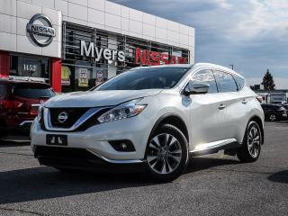 Used 2016 Nissan Murano SL AWD for sale in Orleans, ON