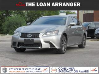 Used 2015 Lexus GS 350 for sale in Barrie, ON