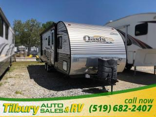 Used 2014 Forest River SHASTA OASIS 26DB Travel-Trailer BUNK HOUSE!! for sale in Tilbury, ON