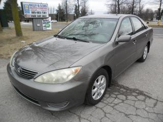 Used 2005 Toyota Camry Clean NO ACCIDENTS, Certified+FREE 6M warranty for sale in Ajax, ON