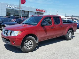 Used 2016 Nissan Frontier SV 4x4 w/climate control,heated seats,rear cam,sxm radio,bedliner for sale in Cambridge, ON
