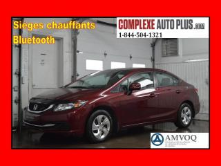 Used 2013 Honda Civic Lx A/c,bluetooth,ba for sale in Saint-jerome, QC