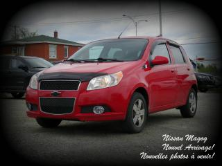 Used 2011 Chevrolet Aveo5 LS + A/C + BEAU BON PAS CHER + WOW! for sale in Magog, QC