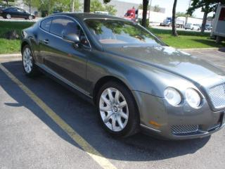 Used 2004 Bentley Continental GT,COUPE,AUTO,NAVI. for sale in Mississauga, ON