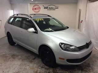 Used 2011 Volkswagen Golf 2.5l Sport Wagon for sale in L'ancienne-lorette, QC