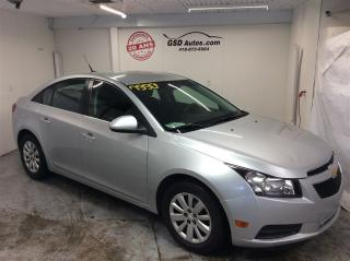 Used 2011 Chevrolet Cruze LT Turbo for sale in L'ancienne-lorette, QC