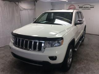 Used 2011 Jeep Grand Cherokee Overland for sale in L'ancienne-lorette, QC