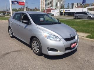 Used 2012 Toyota Matrix FWD for sale in Scarborough, ON