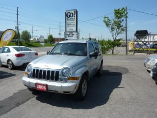 Used 2006 Jeep Liberty Limited,LOW MILEAGE,4X4 for sale in Kitchener, ON