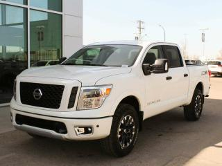 New 2018 Nissan Titan PRO-4X: 4X4, BACK UP CAMERA, NAVIGATION for sale in Edmonton, AB
