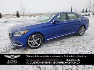 New 2018 Genesis G80 3.8 Technology AWD for sale in Edmonton, AB
