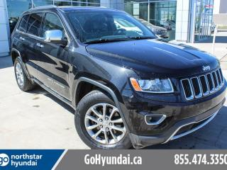 Used 2014 Jeep Grand Cherokee LIMITED/LEATHER/SUNROOF/V6 for sale in Edmonton, AB
