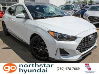 New 2019 Hyundai Veloster TURBO MAN PERF: SPORT RIMS AND RUBBER/APPLE CARPLAY/ANDROID AUTO/SUNROOF for sale in Edmonton, AB