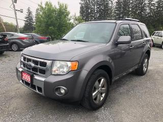 Used 2009 Ford Escape LIMITED LEATHER SUNROOF AWD for sale in Gormley, ON