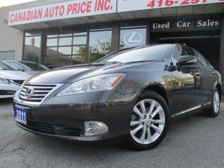Used 2011 Lexus ES 350 NAVIGATION- ULTRA PRE PKG-LTHER-CAMERA-SUNROOF-BLU for sale in Scarborough, ON