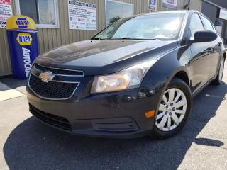 Used 2011 Chevrolet Cruze LT Turbo w/1SA-REMOTE START-SAT RADIO for sale in Tilbury, ON