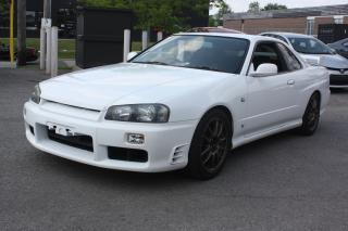 Used 1998 Nissan Skyline GT-T R34 for sale in North York, ON