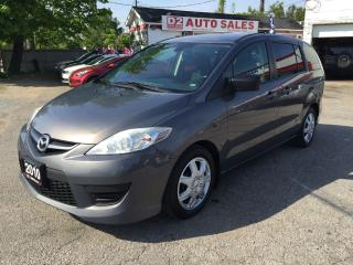 Used 2010 Mazda MAZDA5 6 Passenger/Automatic/Gas Saver/Certified for sale in Scarborough, ON