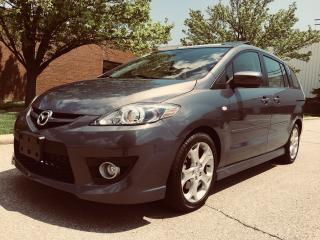Used 2009 Mazda MAZDA5 GT (Leather Seats & Sunroof) for sale in Mississauga, ON