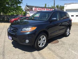 Used 2010 Hyundai Santa Fe Limited/Leaher/Roof/AWD/Bluetooth/Certifed for sale in Scarborough, ON