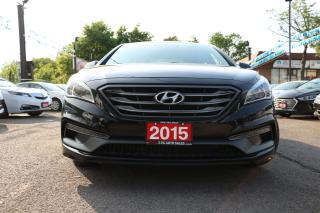 Used 2015 Hyundai Sonata 2.4L Sport LEATHER ROOF ACCIDENT FREE for sale in Brampton, ON