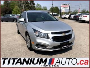 Used 2016 Chevrolet Cruze LT+Camera+Sunroof+Remote Start+My Link+XM Radio+++ for sale in London, ON