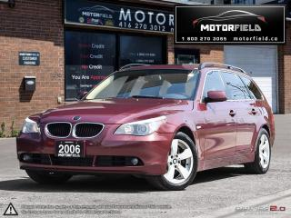 Used 2006 BMW 5 Series 530xi Touring *PANO ROOF, LOW KM, CERTIFIED* for sale in Scarborough, ON