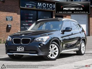 Used 2012 BMW X1 xDrive28i *NAVI, PANO ROOF, CERTIFIED* for sale in Scarborough, ON