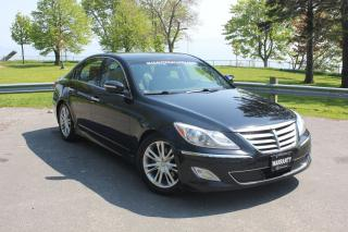 Used 2012 Hyundai Genesis w/Technology Pkg-ROOF|LEATHER|NAVI|BLUETOOTH| for sale in Oshawa, ON