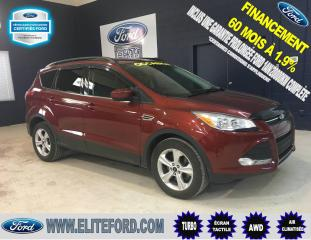 Used 2014 Ford Escape SE, AWD, ÉCRAN TACTILE for sale in Saint-jerome, QC
