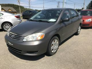 Used 2004 Toyota Corolla 4dr Sdn CE Manual for sale in Val-david, QC