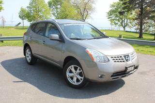 Used 2008 Nissan Rogue SL-LEATHER|ROOF|ALLOYS|AWD|POWER WINDOWS & LOCKS for sale in Oshawa, ON