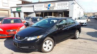 Used 2014 Honda Civic LX BLUETOOTH, H/SEATS for sale in Etobicoke, ON