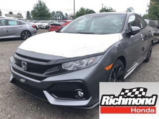 New 2018 Honda Civic Sport w/Honda Sensing for sale in Richmond, BC
