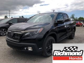 New 2019 Honda Ridgeline Black Edition for sale in Richmond, BC