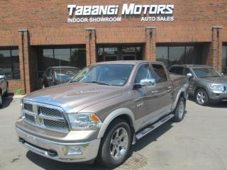 Used 2010 Dodge Ram 1500 LARAMIE | NAVIGATION | CREW CAB | NO ACCIDENT for sale in Mississauga, ON